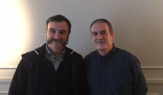 Foto Ricard i Alberto